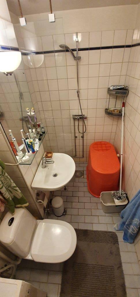 M5 Bygg badrumsrenovering Södermalm - före renovering