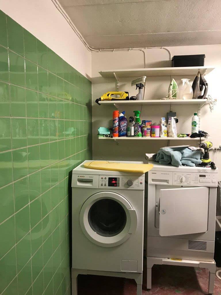 M5 Bygg badrumsrenovering Huddinge - före renovering