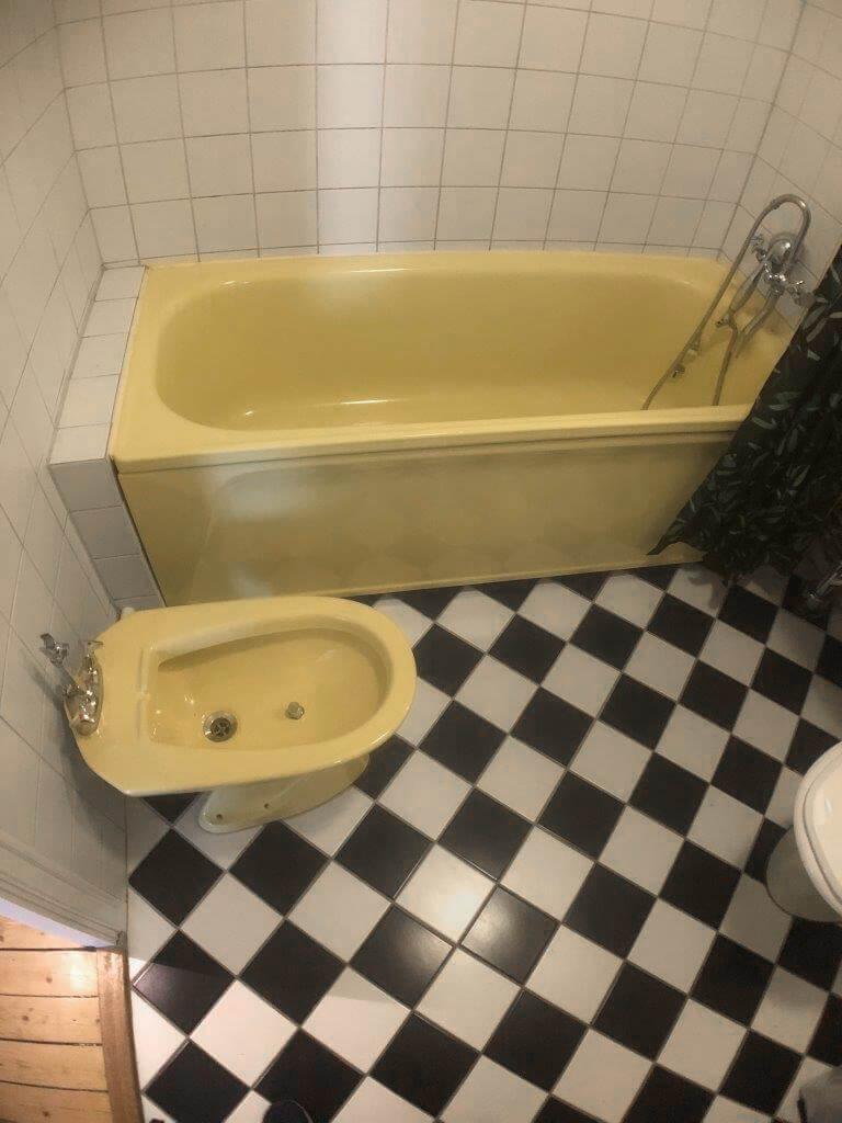 M5 Bygg badrumsrenovering Kungsholmen - före renovering