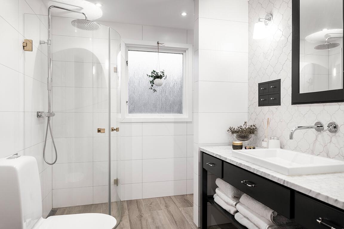 M5 Bygg badrumsrenovering i Stockholm